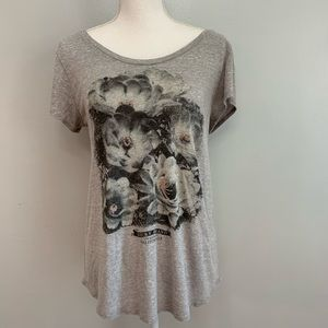 Lucky Brand | Floral Graphic Short Sleeve T Shirt